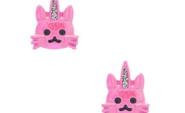 Go to Product: Pink Caticorn Stud Earrings