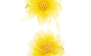 Go to Product: Glitter Lily Flower Hair Clips - Yellow, 2 Pack