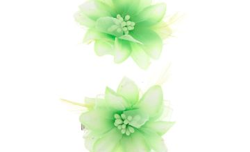 Go to Product: Glitter Lily Flower Hair Clips - Green, 2 Pack
