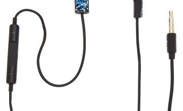 Go to Product: Midnight Cake Glitter Earbuds with Mic - Blue