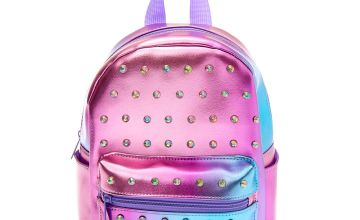 Go to Product: Embellished Ombre Small Backpack - Purple