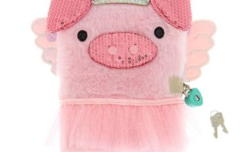 Go to Product: Poppy the Pig Soft Lock Notebook - Pink