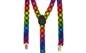 Go to Product: Rainbow Checkered Suspenders