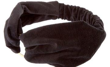 Go to Product: Velvet Ring Headwrap - Black