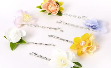 Go to Product: Springtime Flower Hair Pins - 6 Pack