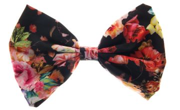 Go to Product: Large Floral Bow Hair Clip