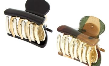 Go to Product: Camo Print Mini Hair Claws - 2 Pack