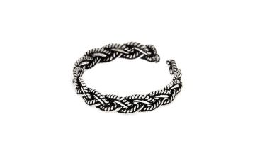 Go to Product: Sterling Silver Bali Braided Toe Ring