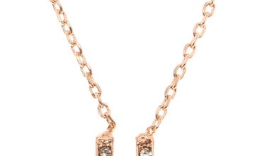 Go to Product: Rose Gold Studded U Initial Necklace