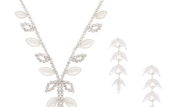 Go to Product: Silver Pearl Leaf Jewellery Set - 2 Pack