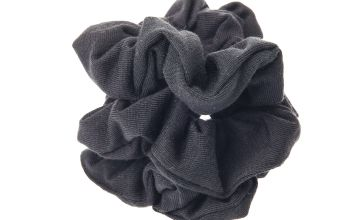 Go to Product: Small Solid Hair Scrunchies - Black, 3 Pack