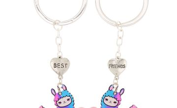 Go to Product: Best Friends Llamacorn Keychains - Purple, 2 Pack