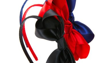 Go to Product: Claire's Club Ribbon Bow Headbands - 3 Pack