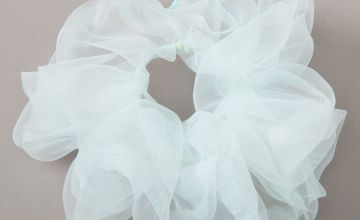 Go to Product: Giant Organza Hair Scrunchie - Mint
