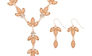Go to Product: Rose Gold Petal Jewellery Set - Pink, 2 Pack
