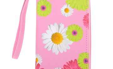 Go to Product: Daisy Floral Wristlet - Pink