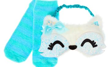 Go to Product: Trixie the Fox Sleeping Mask & Sock Set