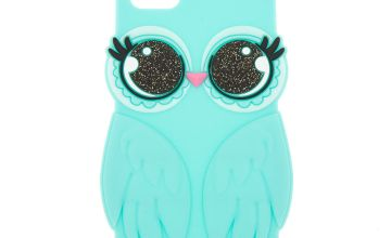 Go to Product: Mint Owl Princess Silicone Phone Case - Fits iPhone 5/5S/SE