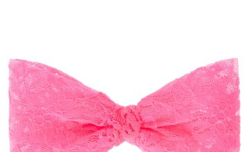 Go to Product: Large Neon Pink Lace Hair Bow