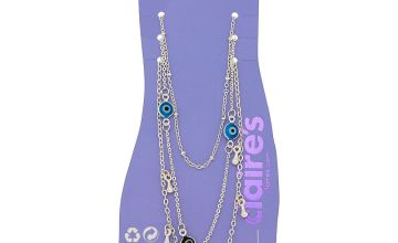 Go to Product: Silver Evil Eye Anklets - 3 Pack