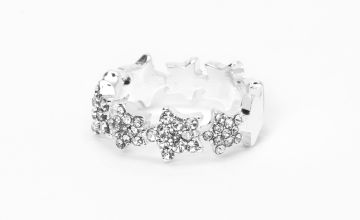 Go to Product: Silver Emellished Star Midi Ring