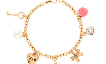Go to Product: Rose Gold Romantic Eiffel Tower Charm Bracelet