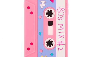 Go to Product: Pink Mixtape Silicone Phone Case - Fits iPhone 6/7/8 Plus