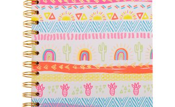 Go to Product: Aztec Summer Sun Rainbow Notebook
