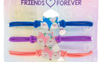 Go to Product: Floral Fox Stretch Friendship Bracelets - 3 Pack
