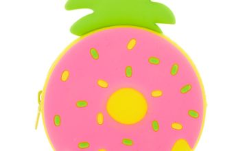 Go to Product: Pineapple Donut Jelly Coin Purse - Pink