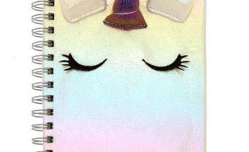 Go to Product: Iridescent Unicorn Notebook - White