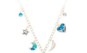 Go to Product: Cosmic Unicorn Statement Necklace - Blue