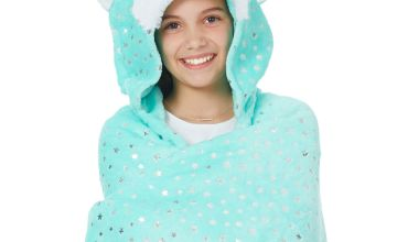 Go to Product: Trixie the Fox Hooded Blanket - Mint
