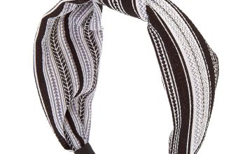 Go to Product: Aztec Knotted Headband - Black
