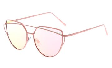 Go to Product: Pink Mirrored Cat Eye Sunglasses