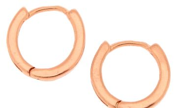 Go to Product: 18kt Rose Gold Plated 12MM Hoop Earrings