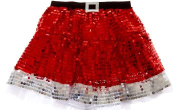 Go to Product: Sequin Santa Tutu - Red