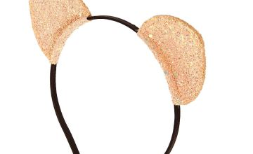 Go to Product: Rose Gold Glitter Cat Ears Headband