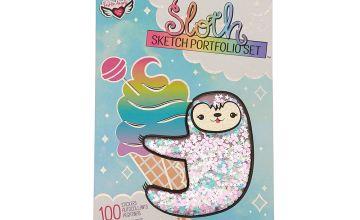 Go to Product: Sophie The Sloth Sketch Portfolio Set