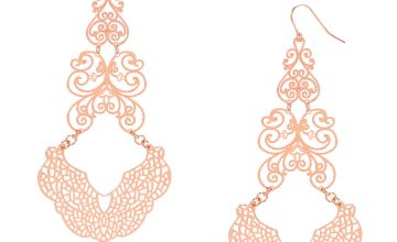 Go to Product: Rose Gold Filigree Drop Earrings