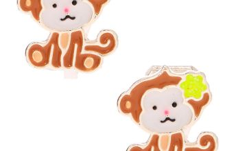 Go to Product: Monkey Business Clip On Earrings - Brown