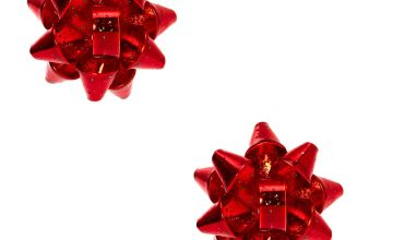 Go to Product: Christmas Bow Clip On Earrings - Red