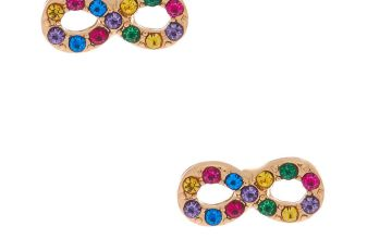 Go to Product: Gold Rainbow Crystal Infinity Stud Earrings