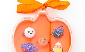 Go to Product: Halloween Pumpkin Box Rings - Orange, 5 Pack