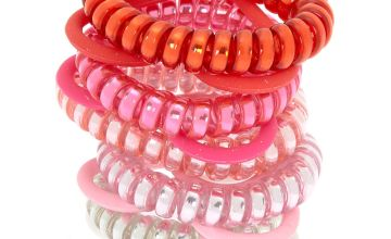 Go to Product: Valentine's Day Spiral Hair Ties & Heart Bracelets - 10 Pack