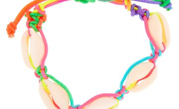 Go to Product: Rainbow Cowrie Shell Adjustable Bracelet