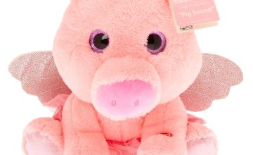 Go to Product: Claire's Club Oinking Pig Soft Toy - Pink