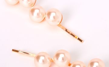 Go to Product: Rose Gold Large Pearl Hair Pins - Blush, 2 Pack