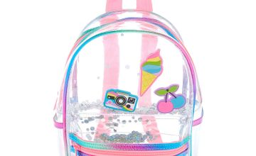 Go to Product: Rainbow Shaker Mini Backpack - Clear