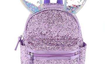 Go to Product: Bella the Bunny Glitter Mini Backpack - Lilac Purple